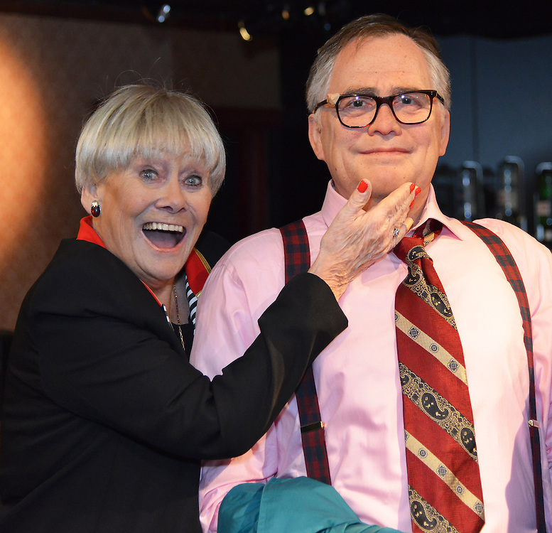 Madam Tussauds Blackpool <br /> Coronation Streets most Famouse Couple Take residence <br /> Jack and Vera Duckworth <br /> Liz Dawn (Vera Dickworth) was at the launch <br /> Pix Dave Nelson