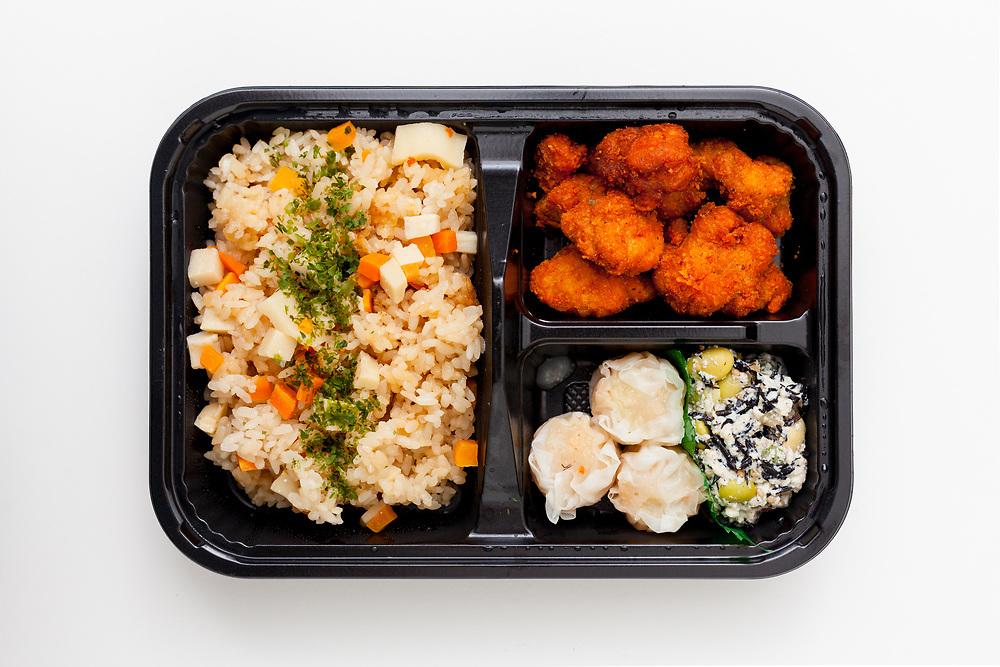 Fried Chicken Bento from Midoriya ($7.61)
