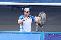 TOKIO -  coach Sjoerd Marijne (IND)  tijdens  de hockeywedstrijd in de kwartfinale  dames , Australie-India (0-1),   tijdens de Olympische Spelen van Tokio 2020. India plaats zich voor de halve finale  . COPYRIGHT KOEN SUYK
