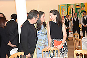 HAN TUMERTEKIN; FUSUN ECZACIBASI; VICTORIA SIDDALL Dinner to celebrate the 10th Anniversary of Contemporary Istanbul Hosted at the Residence of Freda & Izak Uziyel, London. 23 June 2015
