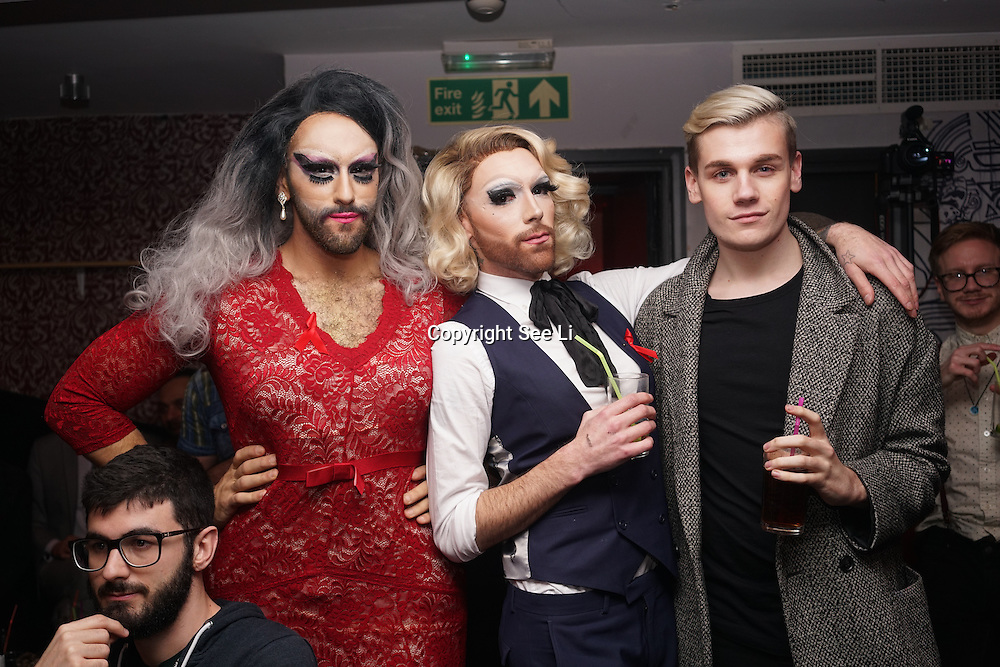 Tyra-May Sue takes the stage at Muse in Soho for one night to help raise money for GMFA – The gay men's health charity and their HIV prevention and stigma-challenging work on 1st December 2016 in Soho,London,UK. Photo by See Li