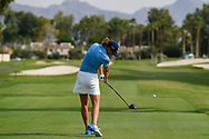Anne Van Dam (NLD) watches her tee shot on 2 during round 2 of the 2020 ANA Inspiration, Mission Hills C.C., Rancho Mirage, California, USA. 9/11/2020.<br /> Picture: Golffile | Ken Murray<br /> <br /> All photo usage must carry mandatory copyright credit (© Golffile | Ken Murray)