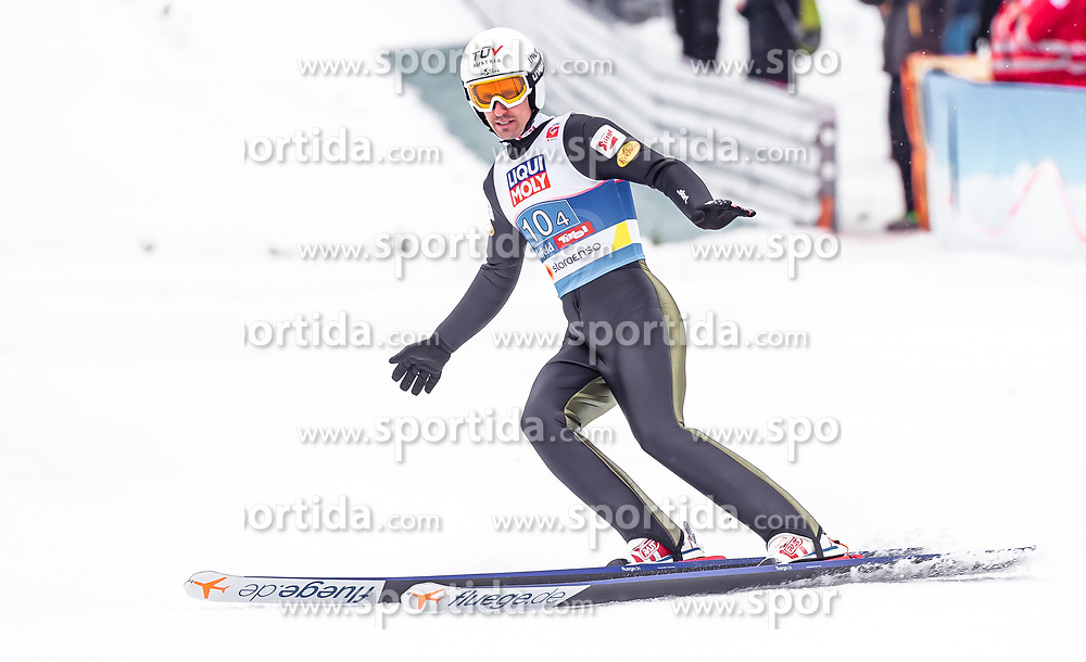 02.03.2019, Seefeld, AUT, FIS Weltmeisterschaften Ski Nordisch, Seefeld 2019, Nordische Kombination, Team Sprung, im Bild Lukas Klapfer (AUT) // Lukas Klapfer of Austria during the Team Jumping competition for Nordic Combined of FIS Nordic Ski World Championships 2019. Seefeld, Austria on 2019/03/02. EXPA Pictures © 2019, PhotoCredit: EXPA/ JFK