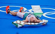 Kristian Blummenfelt wins Gold, mens triathlon. Tokyo 2020 Olympic Games. Monday 26th July 2021. Mandatory credit: © John Cowpland / www.photosport.nz