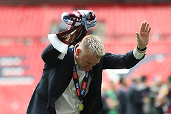 May 27, 2019 - London, England, United Kingdom - during the Sky Bet Championship Play Off Final between Aston Villa and Derby County at Wembley Stadium, London on Monday 27th May 2019. (Credit Image: © Mi News/NurPhoto via ZUMA Press)