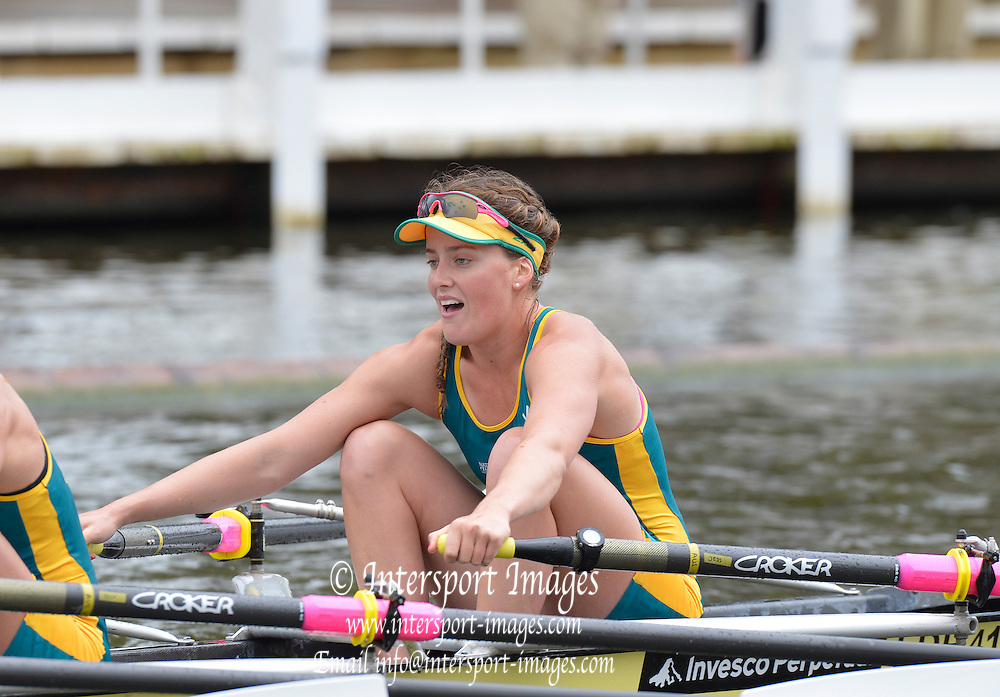Henley, GREAT BRITAIN. Princess Grace  Challenge NRCE. AUS. in their Friday heat. 2012 Henley Royal Regatta. ..Friday  11:19:19  29/06/2012. [Mandatory Credit, Peter Spurrier/Intersport-images]...Rowing Courses, Henley Reach, Henley, ENGLAND . HRR.