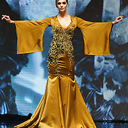 NLD/Amsterdam/20151211 - Modeshow Monique Collignon tijdens LXRY Masters of Luxery 2015, Felice Fleur