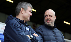 Rochdale manager Keith Hill (right) talks with Peterborough United Assistant Manager Lee Glover before the game - Mandatory by-line: Joe Dent/JMP - 25/02/2017 - FOOTBALL - ABAX Stadium - Peterborough, England - Peterborough United v Rochdale - Sky Bet League One