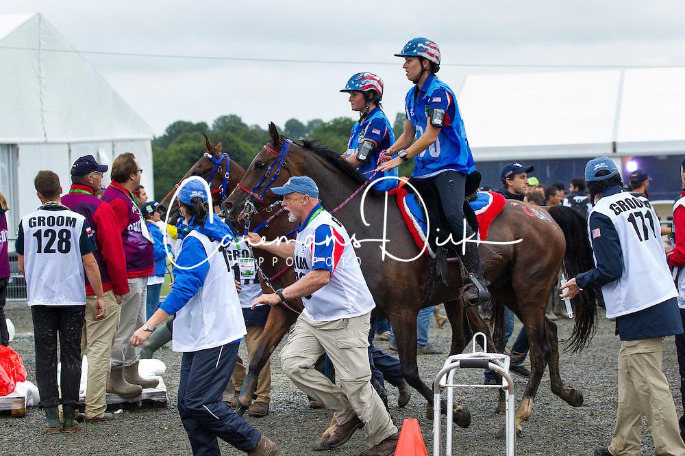 Anna Jane Williams, (GBR), Crystal Wissam - Endurance - Alltech FEI World Equestrian Games™ 2014 - Normandy, France.<br /> © Hippo Foto Team - Leanjo de Koster<br /> 25/06/14
