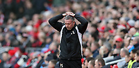 Football - 2016 / 2017 FA Cup - Fourth Round: Liverpool vs. Wolverhampton Wanderers<br /> <br /> Wolverhampton Wanderers manager Paul Lambert during the match at Anfield.<br /> <br /> COLORSPORT/LYNNE CAMERON