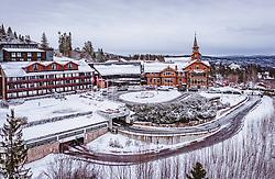 THEMENBILD - das Scandic Holmenkollen Park Hotel, aufgenommen am 08. Maerz 2019 in Oslo, Norwegen // the Scandic Holmenkollen Park Hotel, Oslo, Norway on 2018/03/08. EXPA Pictures © 2019, PhotoCredit: EXPA/ JFK