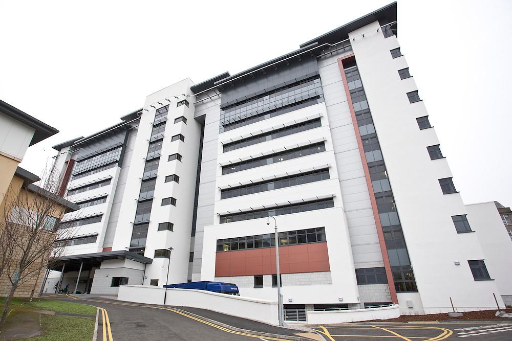 Aberdeen, UK - November 21st 2012:  The new £110 million Emergency Care Centre, Foresterhill Health Campus, Aberdeen...Pictured Exterior of the Emergency Care Centre, Foresterhill Health Campus, Aberdeen....(Photo Ross Johnston/Newsline Scotland).