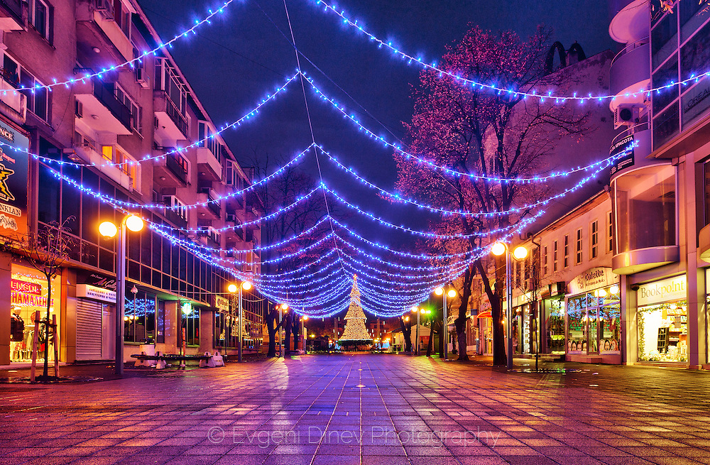 City of Burgas in Christmas livery