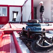 Industriefotografie auf der Messe bauma in Muenchen: Container von Procontain.