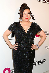 February 24, 2019 - West Hollywood, CA, USA - LOS ANGELES - FEB 24:  Jennifer Tilly at the Elton John Oscar Viewing Party on the West Hollywood Park on February 24, 2019 in West Hollywood, CA (Credit Image: © Kay Blake/ZUMA Wire)