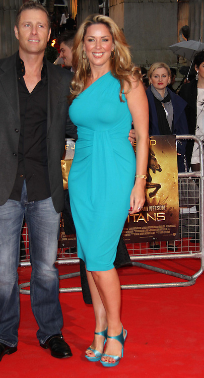 London, UK, 29 March 2010: Celebrity arrivals for the World Premiere of Clash of the Titans held at the Empire Cinema, Leicester Square, London. (Picture by Richard Goldschmidt/Piqtured)