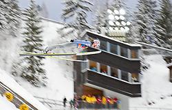 30.12.2011, Schattenbergschanze / Erdinger Arena, GER, Vierschanzentournee, FIS Weldcup, Probedurchgang, Ski Springen, im Bild Martin Koch (AUT) // Martin Koch of Austria during the trial round at 60th Four-Hills-Tournament, FIS World Cup in Oberstdorf, Germany on 2011/12/30. EXPA Pictures © 2011, PhotoCredit: EXPA/ P.Rinderer