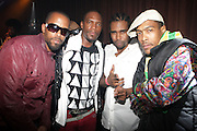 l to r: Stic-Man(Dead Prez), M1(Dead Prez), Pharaoh Monch, and Umi(Dead Prez) at The ROOTS Present the Jam produced by Jill Newman Productions held at Highline Ballroom on April 29, 2009 in New York City