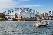 Sydney Opera House and Sydney Bridge Australia