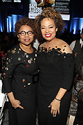NEW YORK, NEW YORK- FEBRUARY 11: (L-R) Marva Smalls and Deryl McKissack (Honoree) attend the National CARES Mentoring Movement 'FOR THE LOVE OF OUR CHILDREN' Gala Inside held at the Zeigfeld Ballroom on February 11, 2019 in New York City.  (Photo by Terrence Jennings/terrencejennings.com)
