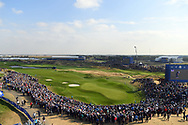Illustration 9th green during the friday afternoon foursome session of Ryder Cup 2018, at Golf National in Saint-Quentin-en-Yvelines, France, September 28, 2018 - Photo Philippe Millereau / KMSP / ProSportsImages / DPPI
