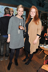 Left to right, LUCY CLELAND and CHARLOTTE LASCELLES at a ladies lunch hosted by Thomasina Miers at her restaurant Wahaca, 19-23 Charlotte Street, London W1 on 17th January 2013.
