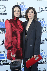 February 8, 2020, Los Angeles, California, United States: 2020 Film Independent Spirit Awards held at Santa Monica Pier..Featuring: St Vincent, Carrie Brownstein.Where: Los Angeles, California, United States.When: 08 Feb 2020.Credit: Faye's VisionCover Images (Credit Image: © Cover Images via ZUMA Press)
