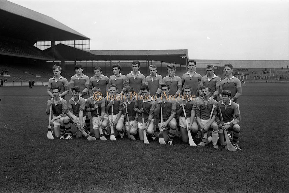16/10/1966<br /> 10/16/1966<br /> 16 October 1966<br /> Oireachtas Minor Final: Cork v Wexford at Croke Park, Dublin. <br /> The Wexford team.