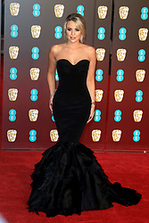 attends the EE British Academy Film Awards at the Royal Albert Hall in London, UK. 18 Feb 2018 Pictured: Lydia Bright. Photo credit: Fred Duval / MEGA TheMegaAgency.com +1 888 505 6342