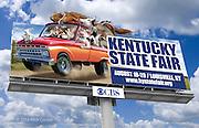 Kentucky State Fair Billboard. Photoshop for The Kentucky State Fair.