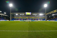 General stadium view inside Selhurst Park before The FA Cup 3rd round match between Crystal Palace and Grimsby Town FC at Selhurst Park, London, England on 5 January 2019.
