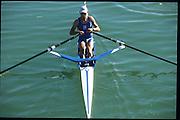 Zagreb, CROATIA.  2000 FISA World Rowing Junior & Non-Olympic Seniors Championships   [Mandatory Credit Peter Spurrier/Intersport Images]Zagreb, CROATIA.  FIN LM1X, HALTSONEN Tomas.  2000 FISA World Rowing Junior & Non-Olympic Seniors Championships   [Mandatory Credit Peter Spurrier/Intersport Images]