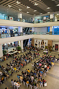 People attending a catholic mass service inside Glorietta Shopping Mall, Makati, Metro Manila, Philippines. The Philippines is one of only two predominantly catholic countries in Asia, the other being East Timor.