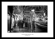 This shot of Dublin's Grafton Street during Christmas time is the perfect gift idea for someone that lies Irish vintage pictures. Irish Photo Archive has millions of photos of old Dublin.