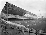 Section of New Stand at Croke Park  (New Hogan Stand).21/01/1959