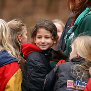 Asielzoekers spelen bij de Vasanta Scouting