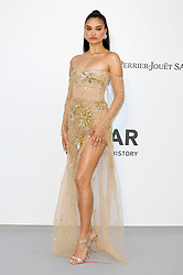 May 23, 2019 - Antibes, Alpes-Maritimes, Frankreich - Shanina Shaik attending the 26th amfAR's Cinema Against Aids Gala during the 72nd Cannes Film Festival at Hotel du Cap-Eden-Roc on May 23, 2019 in Antibes (Credit Image: © Future-Image via ZUMA Press)