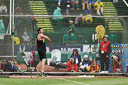 Aaron Brooks, men's discus champion