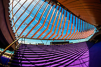Interior view, Sydney Opera House, Bennelong Point, Sydney, New South Wales, Australia