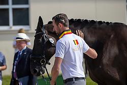 Michiels Domien, BEL, Intermezzo van het Meerdaalhof<br /> European Championship Dressage Hagen 2021<br /> © Hippo Foto - Stefan Lafrentz<br />  06/09/2021