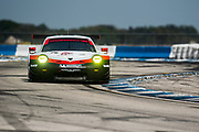 March 16-18, 2017: Mobil 1 12 Hours of Sebring. 911 Porsche GT Team, Porsche 911 RSR, Patrick Pilet, Dirk Werner, Frederic Makowiecki