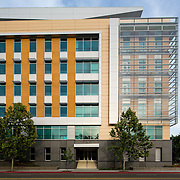 Exterior Image of the Department of Motor Vehicles, California Civic Architecture Examples of Chip Allen Photography.