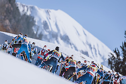 28.02.2021, Oberstdorf, GER, FIS Weltmeisterschaften Ski Nordisch, Oberstdorf 2021, Herren, Langlauf, Teamsprint, Freestyle, im Bild Feature // Feature during men Cross Country team sprint freestyle competition of the FIS Nordic Ski World Championships 2021 in Oberstdorf, Germany on 2021/02/28. EXPA Pictures © 2021, PhotoCredit: EXPA/ Dominik Angerer