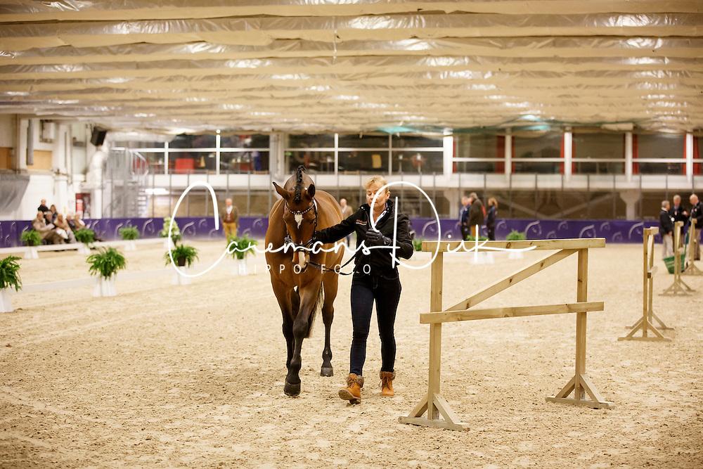 Krinke-Susmelj Marcela, (SUI), Smeyers Molberg<br /> Horse Inspection<br /> Reem Acra FEI World Cup Dressage Finals 2016<br /> © Hippo Foto - Dirk Caremans<br /> 24/03/16