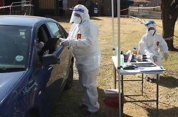 South Africa - Preoria - 20 July 2020 - The new HealthOnSite drive-through covid-19 testing site at Supersport Park, Centurion.<br /> Picture: Jacques Naude/African News Agency(ANA)