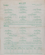 Interprovincial Railway Cup Football Cup Final,  17.03.1961, 03.17.1961, 17th March 1961, referee S O Mairtin , Leinster 4-05, Munster 0-04, Football Team Leinster, W Nolan, P McCormack, G Hughes, S Egan, M Brady, P Holden, C Wrynne, S Foran, M Carley, K Beahan, F Lynch, J Kenna, S Brereton, J Joyce, K Heffernan, Football Team Munster, J Cullotty, P Harrington, T Lyons N Sheehy, K Coffey, T Long, M Dwyer, S Murphy, C O'Sullivan, E McCarthy, J Keating, P Sheehy, T Power, J Dowling, G McMahon,.Interprovincial Railway Cup Hurling Cup Final,  17.03.1961, 03.17.1961, 17th March 1961, referee C O Dublainn, Leinster 3-09, Munster 4-12,.