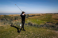 Delta Lloyd Golf Challenge at the Royal Ostend Golf Club in Ostend on September 30, 2013. Witness images/Thierry Roge