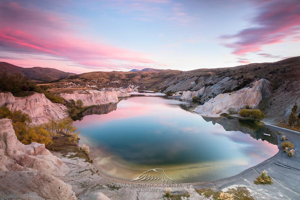Blue Lake, St Bathans, Central Otago