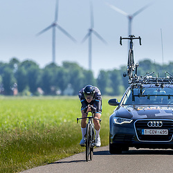 EMMEN (NED) June 16: <br />CYCLING <br />Dutch Nationals Time Trail men U23 <br />Huub Deelstra