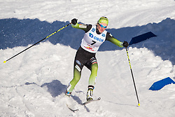 March 16, 2019 - Falun, SWEDEN - 190316  Anamarija Lampic of Slovenia in the Women's cross-country skiing sprint  semi final during the FIS Cross-Country World Cup on march 16, 2019 in Falun  (Credit Image: © Daniel Eriksson/Bildbyran via ZUMA Press)